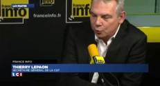 """Thierry Lepaon : """"Bling-bling, c'est l'image qu'on a collé à Nicolas Sarkozy"""""""