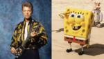 David Bowie et Bob l'éponge