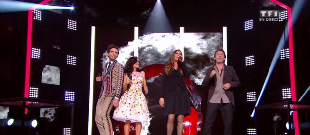 Jenifer, Mika, Zazie et Florent Pagny chantent en direct « Need You Tonight » (INXS)