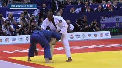 Le 20 heures du 30 août 2014 : Judo : Teddy Riner remporte un 7e titre mondial - 134.07800000000003