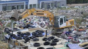 Marseille : évacuation d'un camp de roms