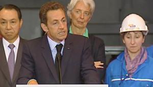 Nicolas Sarkozy à Saint-Nazaire
