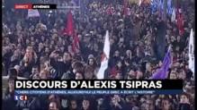 """Tsipras : """"l'espoir a écrit l'histoire"""""""