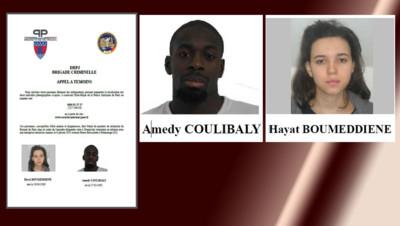 appel a temoin vincennes montrouge Coulibaly Boumeddiene