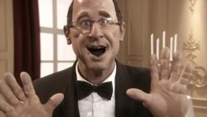 La marionnette de François Hollande