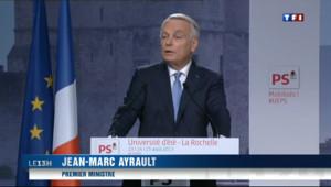 """Le 13 heures du 25 août 2013 : Ayrault : """"La r�stance ne peut pas �e une fuite"""" - 365.591"""