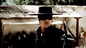 Alain Delon dans Zorro
