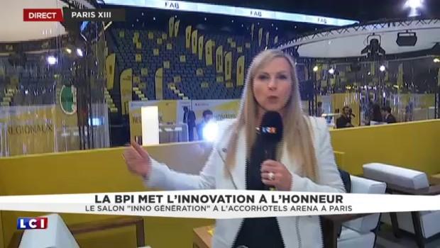 """BPIFrance : le salon """"Inno Génération"""" ouvre ses portes à l'AccorHotels Arena à Paris"""