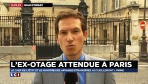 Isabelle Prime libre : l'ex-otage accueillie en début de soirée par François Hollande