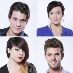 Manurey, Kareen Antonn, Cécilia et Florent, quatre nouveaux talents révélés par The Voice.