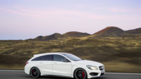 Mercedes-Benz CLA Shooting Brake, version