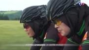 Privée de vélo en Afghanistan, ces deux sœurs participent pour la première fois à une compétition... à Albi