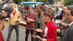 TF1/LCI Elections législatives 2007 Michèle Delaunay