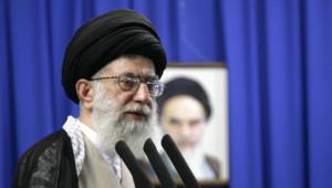 Ali Khamenei, le Guide suprême de la Révolution, le 19 juin 2009 à Téhéran