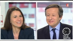Aurélie Filipetti sur France 2 (10 avril 2013)