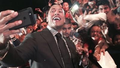 Dwayne Johnson, alias The Rock, sur Instagram.