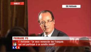 """Hollande appelle """"au rassemblement le plus large"""" autour de lui"""