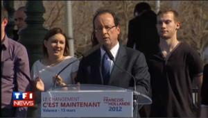 """Hollande refuse """"toute surenchère"""" pendant la campagne"""