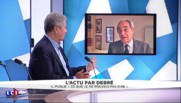 "Jean-Louis Debré / Loi El Khomri : ""La blague de Bernard Debré est déplacée"""