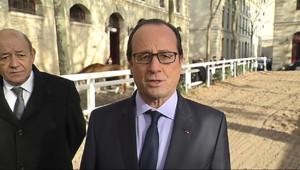 """Le 13 heures du 9 décembre 2014 : Fran�s Hollande : """"La France n'a plus aucun otage"""" - 368.677"""