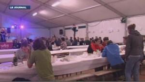 Repas de l'Xtrem Trail dans le Doubs le 5 octobre 2013 lors duqel une intoxication alimentaire a touché 42 personnes