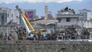 Un attentat a touché un bâtiment gouvernemental de Kaboul, en Afghanistan, le mardi 19 avril 2016.