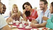 amis prétexte illustration copains amitié retrouvaille repas
