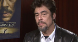 Benicio Del Toro en interview pour le film Paradise Lost