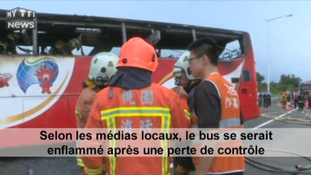 Dramatique accident d'un bus de touristes chinois