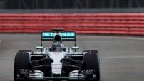 La Mercedes W06 Hybrid, voiture de la firme à l'étoile pourl a saison 2015 de Formule 1.