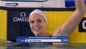 Laure Manaudou et Camille Muffat, des nageuses en or