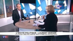 """Laurent Berger : """"La loi Travail est très mal partie, cela a créé un traumatisme"""""""