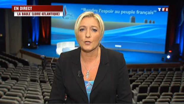 """Marine Le Pen : """"pour une vision plus large de la laïcité"""""""
