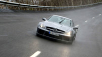 Photo Mercedes SL65 AMG Black Series - 2009 - Feux allumés