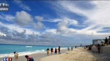 cancun plages algues