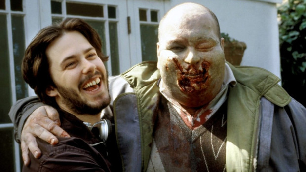 Edgar Wright sur le tournage de Shaun of the Dead