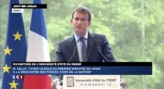"""Valls """"ne doute pas du soutien de la majorité"""""""
