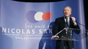 "Brice Hortefeux, président des ""Amis de Nicolas Sarkozy"""