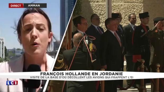 Honneurs militaires et fanfare royale pour François Hollande au Caire
