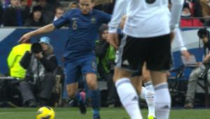 Le match amical France-Allemagne le 6 février 2013 au Stade de France.