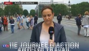 Manifestation contre la loi travail: 2.500 policier et 27 interpellations en amont du défilé