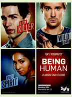 Being Human US Saison 1. Une série fantastique américaine avec Sam Witwer, Sam Huntington, Meaghan Rath, et Mark Pellegrino.