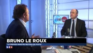 """Départementales : """"Il n'y aura pas de remaniement"""" confirme Bruno Le Roux"""
