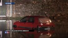Hérault : des automobilistes surpris par la montée des eaux