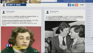 La page Facebook de Sarkozy a sa copie sans trous de mémoire