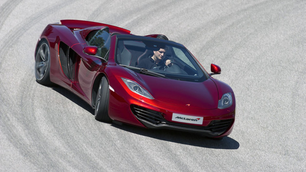 McLaren MP4-12C Spider 2012