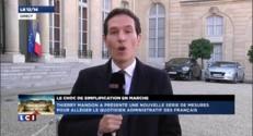 """Simplification dans l'administration : """"Un choc"""" selon Hollande"""