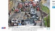 A Florence, une vingtaine de voitures finissent à l'eau après l'effondrement d'un quai