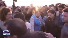Angelina Jolie visite un camp de réfugiés en Irak