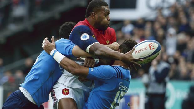 Pour son premier match avec le XV de France, Virimi Vakatawa a inscrit un essai face à l'Italie 2321) en ouverture du tournoi des VI Nations, le 6 février 2016 au Stade de France.